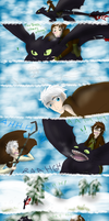 ROTBTD - Hiccup meets Jack by HezuNeutral