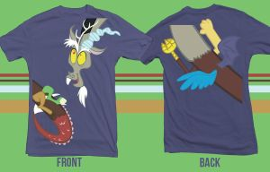 Discord Wraparound Shirt by vmkhappy-panda