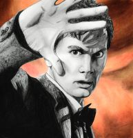 David Tennant as The Doctor by MP-R