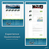 Experience Queenstown Website by jrdnG