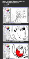 Tutorial Coloring using Sai by Miss-TaDa