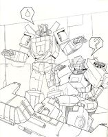 Polaris and Wheeljack by beamer
