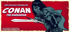 The Savage Sword of Conan The Barbarian by EttoBascianoWorks