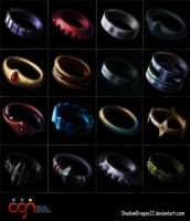 Game Items: rings by ShadowDragon22