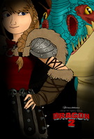 HTTYD 2 Astrid and Stormfly by xXDragonWingsXx