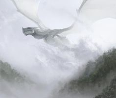 The Mist Dragon by WandererLink