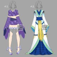 [closed] Auction Outfit Adopt kimono by YuiChi-tyan
