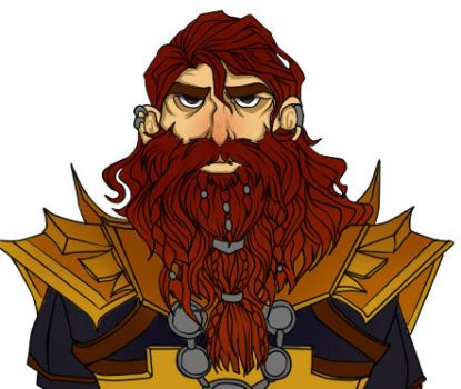 Gimli WIP by someoneHOnesT