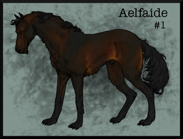 Aelfaide #1 by ESWard