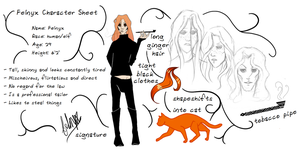 Felnyx Character Sheet (Hetherev) by CrassiusCurio