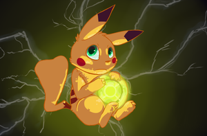 Lightning Orb by Luna-Chii