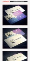 Personal Business Card Template 01 by freebiespsd