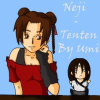 Tenten and Neji plush 2 by crooquete