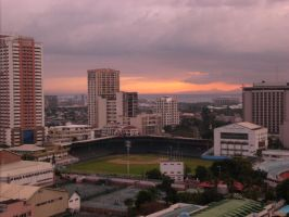 Rizal Memorial Baseball Field by metaporista