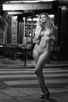 Ella Rose: Nude in Paris - Ile Saint Louis by JeremyHowitt