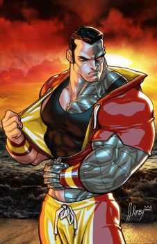 Colossus by JJKirby