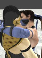 Kitana and Scorpion pt 1 by BellaCullen8711