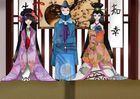 .:Ayame and Family:. by MariChanVainilleDoll