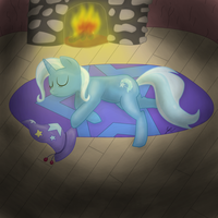 The great and powerful Nap by NightGreenMagician