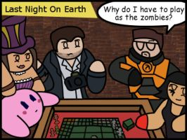Video Game Stars Playing Board Games: LNOE by The-Author-M