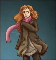 Pink Scarf by Until-The-Dark
