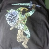 Lootcrate May 2014 Shirt - Adventure by sephiroth1204