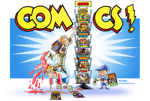 The Comic Book Kids by KB-ARTIST