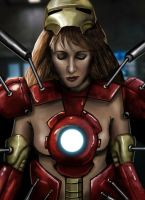 Pepper Potts - Suit Up! by HeroforPain