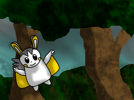 Emolga's Forest by BudCharles