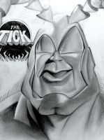 the tick sketch by tat2istcecil
