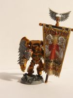 Sanguinary Guard Banner Bearer by ReinoutJansen