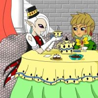 Tea Time with Ghirahim by xBooxBooxBear