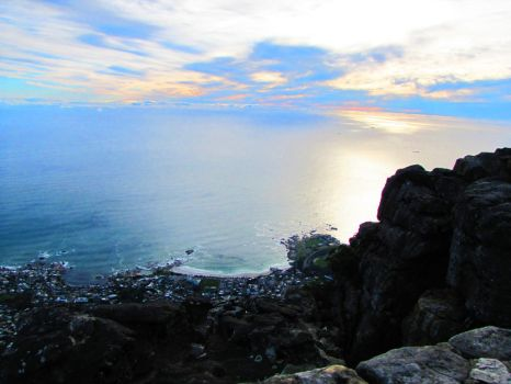 View from Table Mountain 1 by AniaBuckle