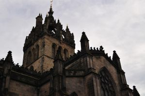 Tower of St. Giles by dcheeky