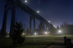 St John's Bridge from Cathedral Park 2 by ringmale