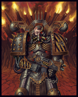 Chaos Space Marine : Iron Warrior [40k] by peopleofunitedstates