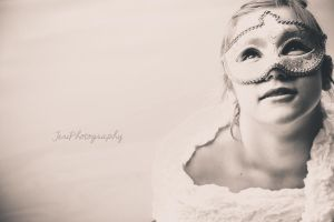 The Girl In Mask by photographybyteri