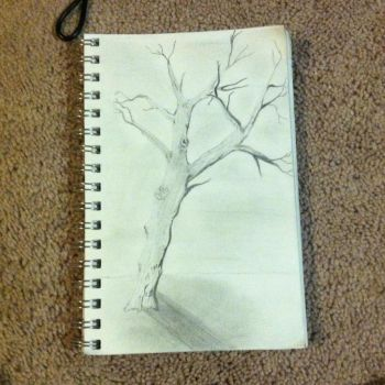 Dead tree drawing by Empi-lll