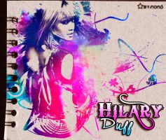 Hilary Duff by Nonoo95