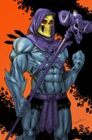 Skeletor CON PRINT 2012 by ColtNoble
