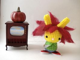 Sideshow Bob Moon Bun by MoonYen