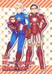 Tony/Steve fanbook's cover by anubis0055