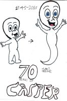 70 Years of Casper by Urvy1A