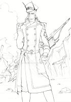 Lineart general Ira by Lennylein