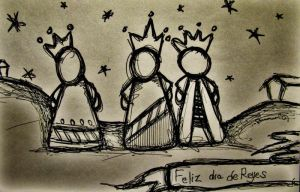 Happy Three King day by reavel