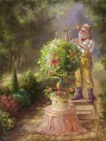 Gardener's Cake by Ganusia