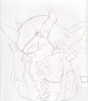 Request: WarGreymon 1 by ChaosGreiga
