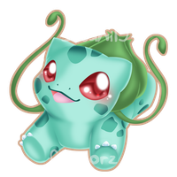 Bulbasaur :let me jump into your arms: by Clinkorz