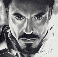 Iron Man - STEP 7 of 8 by Rick-Kills-Pencils