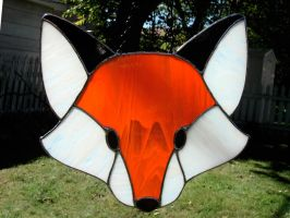 Stained Glass Fox by bigblued
